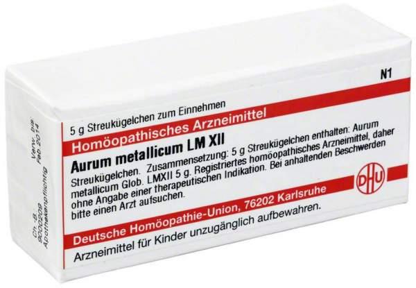 Lm Aurum Metallicum Xii Globuli