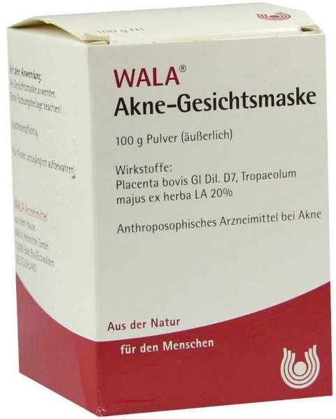 Akne Gesichtsmaske Wala 100 G Pulver