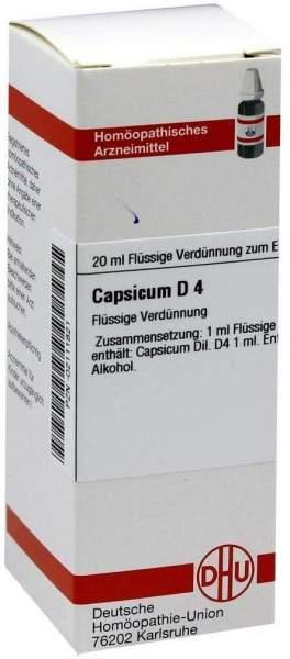 Capsicum D 4 Dilution