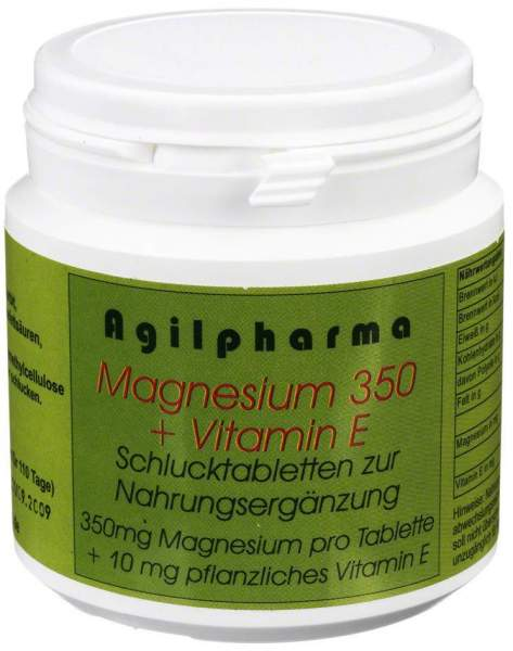 Magnesium 350 + Vitamin E Tabletten 110 Tabletten