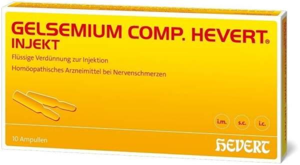 Gelsemium Comp. Hevert Injekt 10 Ampullen