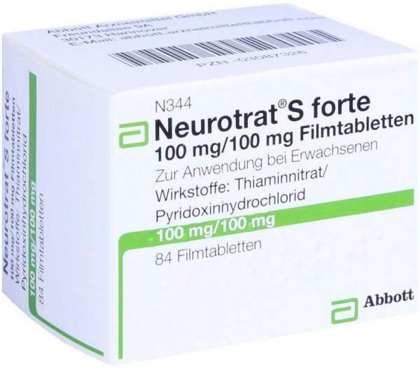Neurotrat S Forte 84 Filmtabletten