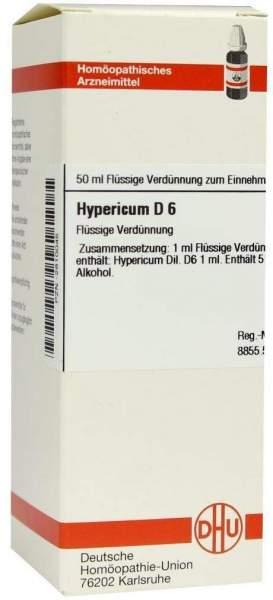 Hypericum D6 Dilution 50 ml Dilution