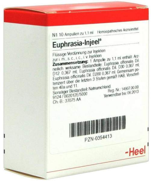 Euphrasia Injeele 1,1 ml