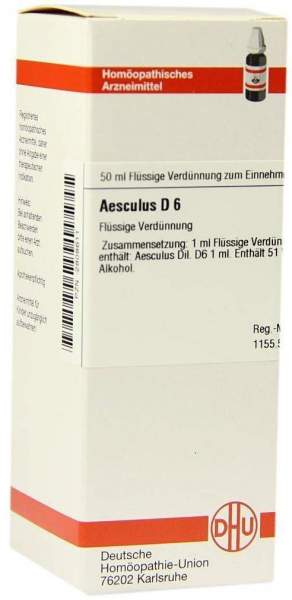 Aesculus D6 50 ml Dilution