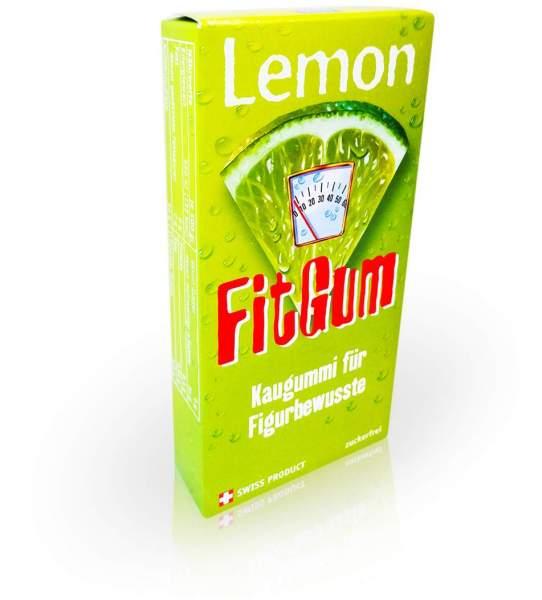 Lemon Fitgum L-Carnitin Kaugummi