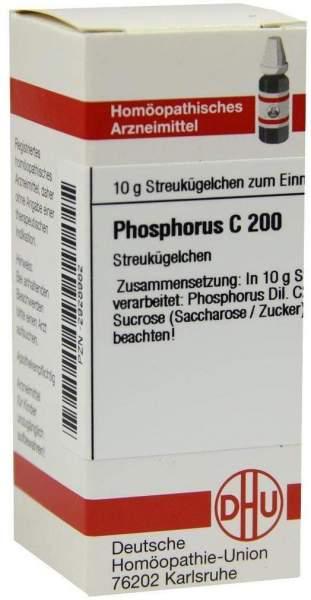 Phosphorus C 200 10 G Globuli