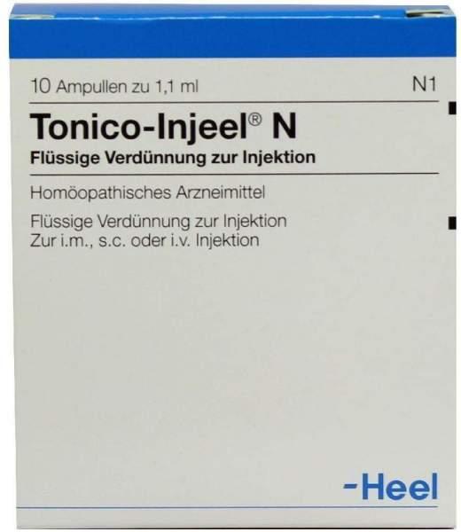 Tonico Injeel N 10 Ampullen