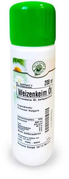 Weizenkeim Öl kaltgewonnen 200 ml Öl