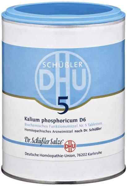 Biochemie Dhu 5 Kalium Phosphoricum D6 1000 Tabletten