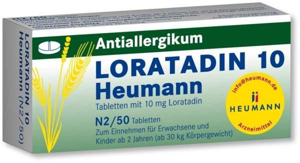 Loratadin 10 Heumann 50 Tabletten