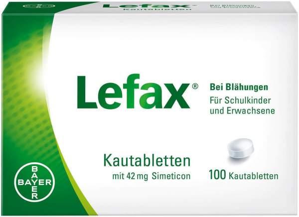 Lefax Kautabletten 100 Kautabletten
