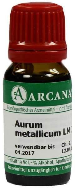 Aurum Metallicum Arcana Lm 18 Dilution 10 ml