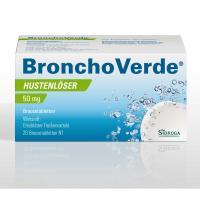 BRONCHOVERDE Hustenlöser 50 mg20 Brausetabletten
