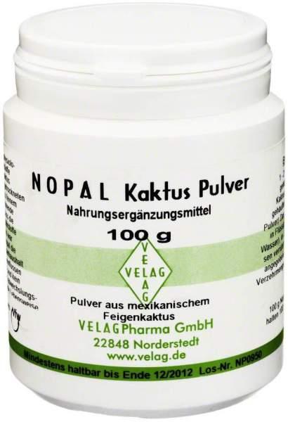 Nopal Kaktus 100 G Pulver