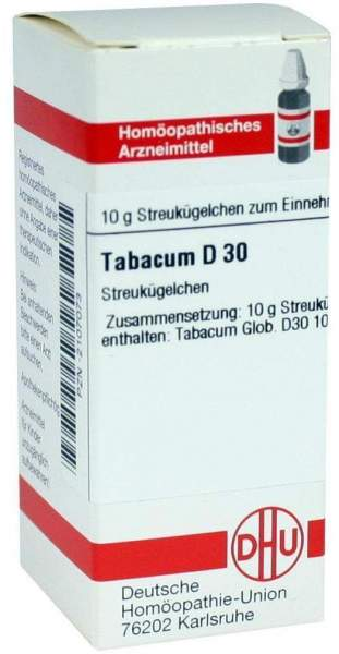 Tabacum D30 Dhu 10 G Globuli