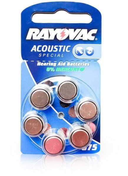 Rayovac Hörgerätebatterien 675 blau