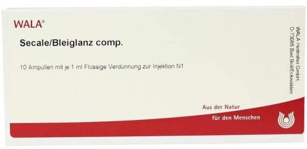 Secale Bleiglanz Comp. Ampullen 10 X 1 ml