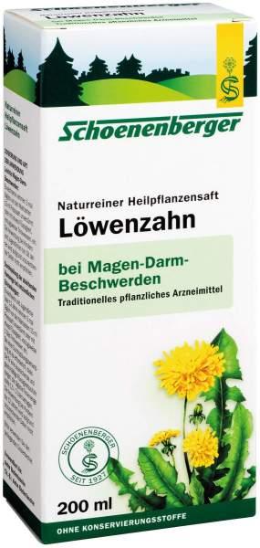 Löwenzahn 200 ml Saft Schoenenberger