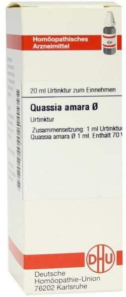 Quassia Urtinktur 20 ml Dilution