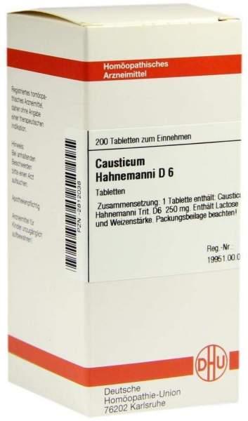 Causticum Hahnemanni D6 200 Tabletten