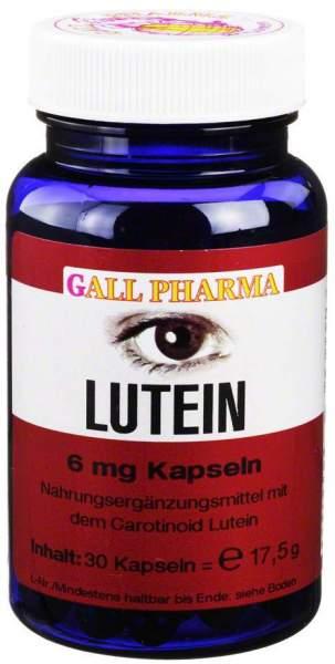 Lutein 6 mg 30 Kapseln
