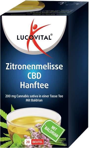 Lucovital Cannabidiol Hanftee 20 Beutel