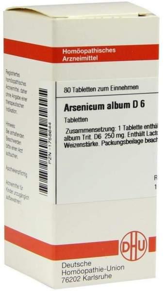 Arsenicum Album D6 80 Tabletten