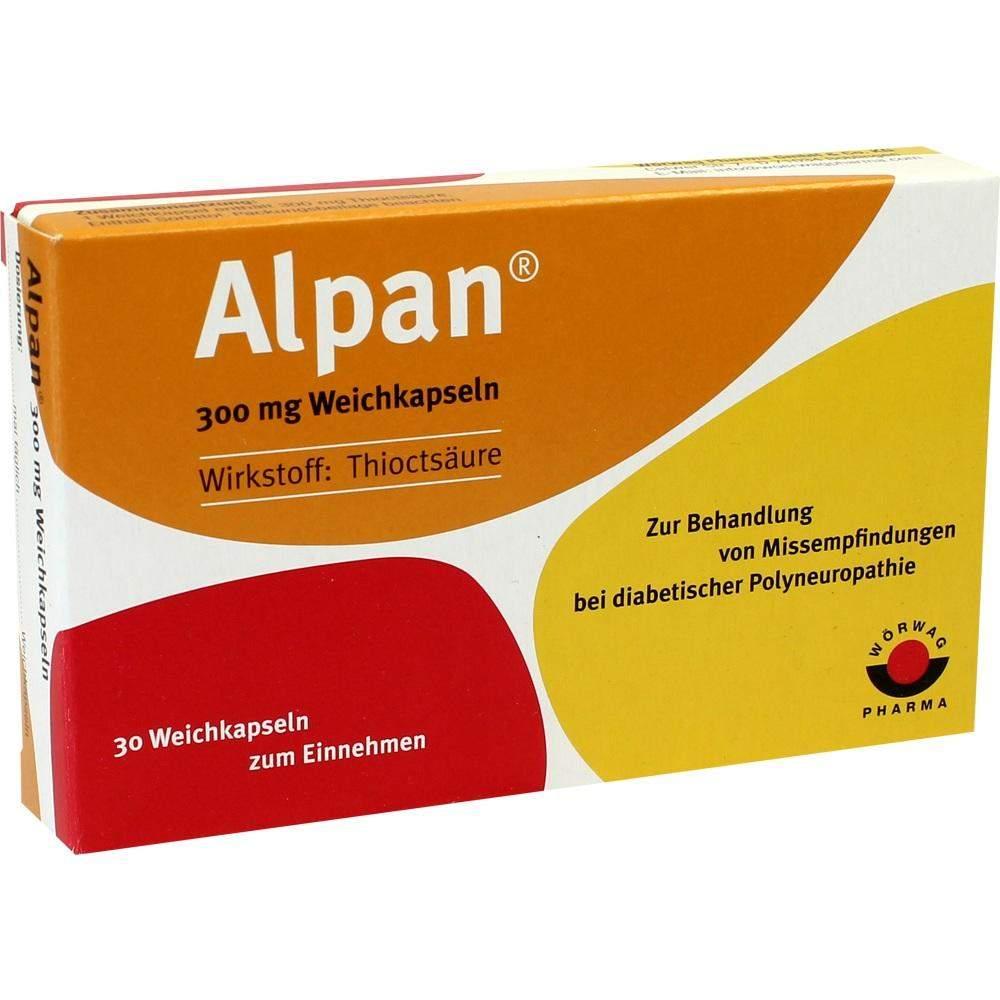 Alpan 300 mg 30 Weichkapseln