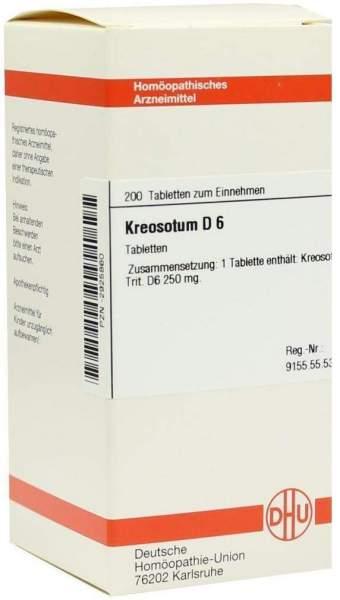 Kreosotum D6 200 Tabletten