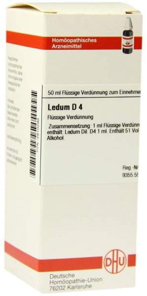 Ledum D4 Dhu 50 ml Dilution