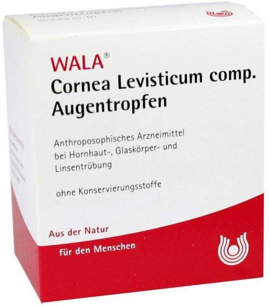 Wala Cornea Levisticum Comp. 30 X 0,5 ml Augentropfen