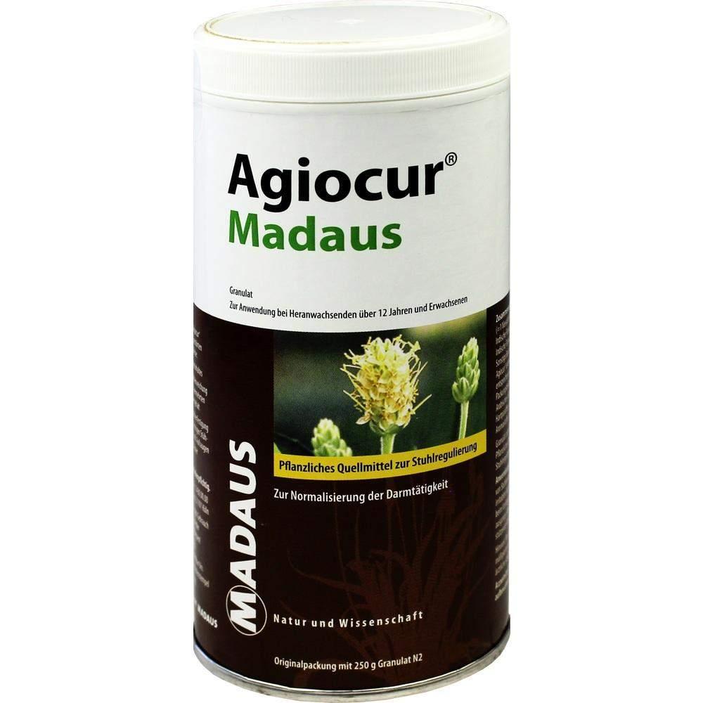 Agiocur Granulat Mit Flohsamen 250g