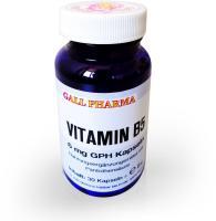 Vitamin B5 6 mg Gph Kapseln 30 Kapseln