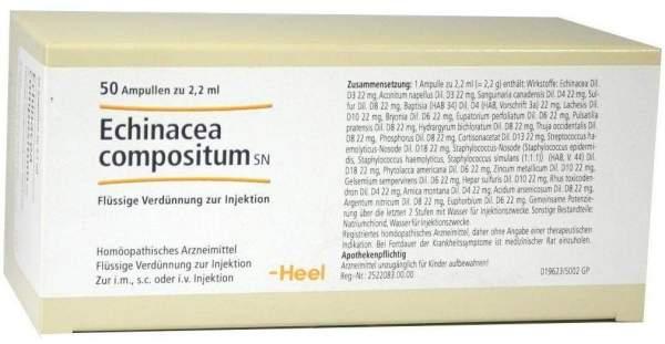 Echinacea Compositum Sn 50 Ampullen