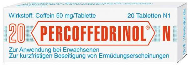 Percoffedrinol N 20 Tabletten