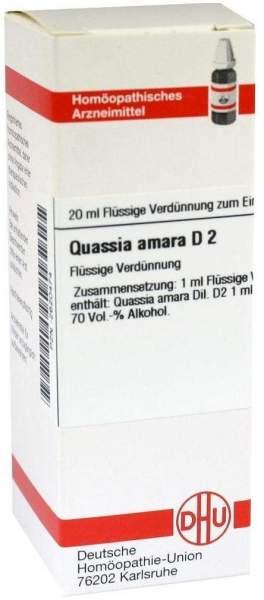 Quassia D2 Dilution 20 ml Dilution