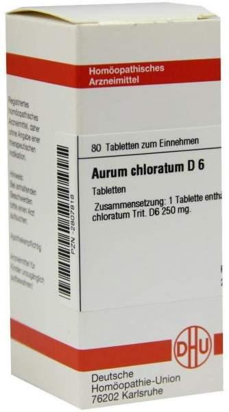 Aurum Chloratum D6 Tabletten 80 Tabletten