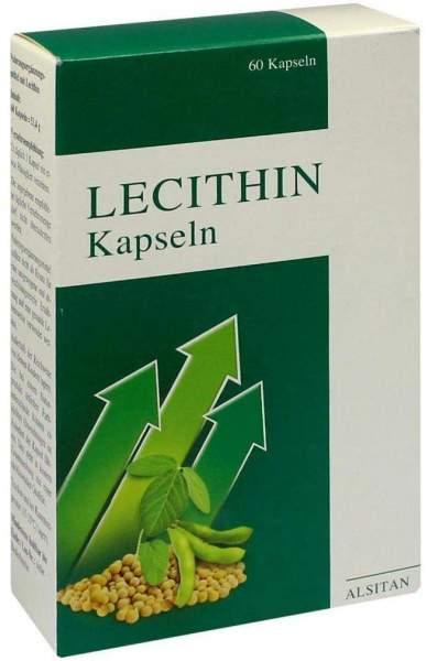 Lecithin Kapseln Biolog. Alsitan