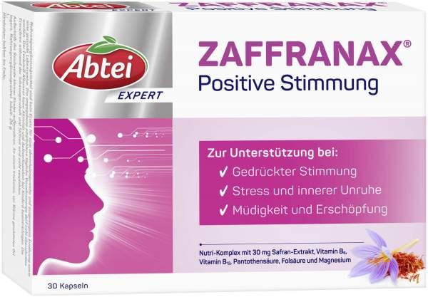 Abtei Expert Zaffranax Positive Stimmung 30 Kapseln