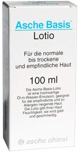 Asche Basis 100 ml Lotio