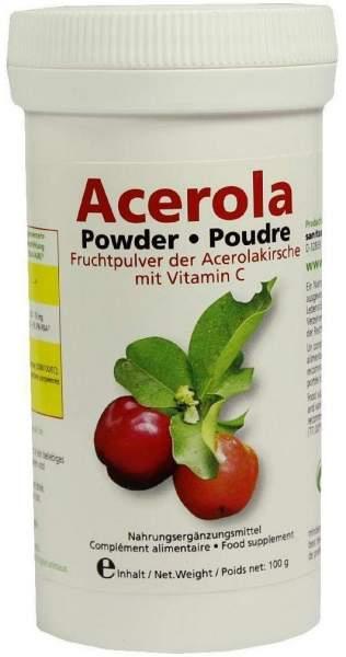 Acerola Fruchtpulver der Acerolakirsche Mit Vitamin C 100 G