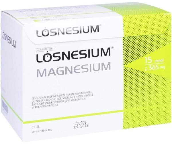 Lösnesium Brausegranulat 50 Beutel