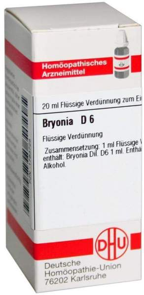 Bryonia D 6 20 ml Dilution