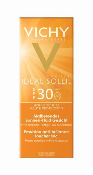 Vichy Idéal Soleil mattierendes Sonnenfluid LSF 30
