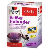 Doppelherz Heisser Holunder mit Vitamin C und Zink Granulat 10 Beutel