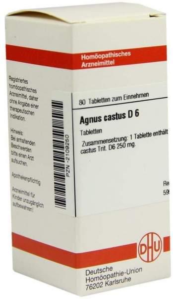 Agnus Castus D6 80 Tabletten