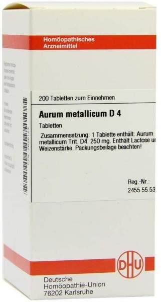 Aurum Metallicum D4 Tabletten 200 Tabletten