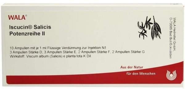 Iscucin Salicis Potenzreihe II Ampullen
