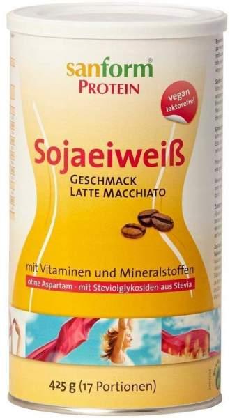 Sanform Protein Sojaeiweiß Latte Macchiato
